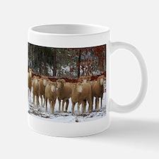 Snow Ewes Sheep Strip-Horned Dorsets Mug