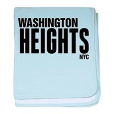 Washington Heights NYC baby blanket