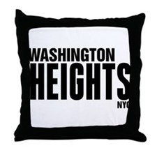 Washington Heights NYC Throw Pillow