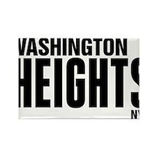 Washington Heights NYC Rectangle Magnet