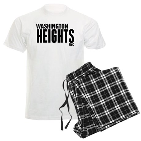 Washington Heights NYC Men's Light Pajamas