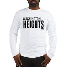 Washington Heights NYC Long Sleeve T-Shirt