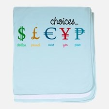 Choices baby blanket
