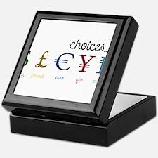 Choices Keepsake Box