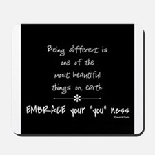 Being Different Mousepad