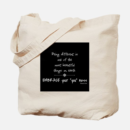 Being Different Tote Bag