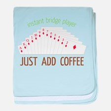 Instant Bridge Player baby blanket