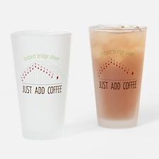 Instant Bridge Player Drinking Glass