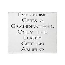 Abuelo Throw Blanket