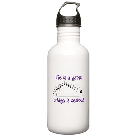 Life Is A Game Stainless Water Bottle 1.0L