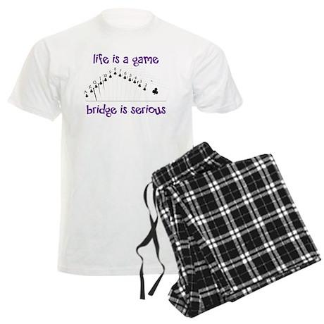 Life Is A Game Men's Light Pajamas