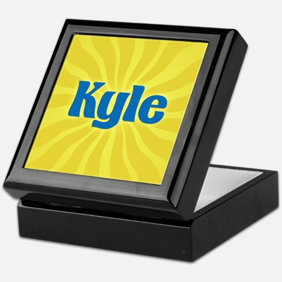 Kyle Sunburst Keepsake Box
