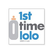 "LoloLola.com Square Sticker 3"" x 3"""