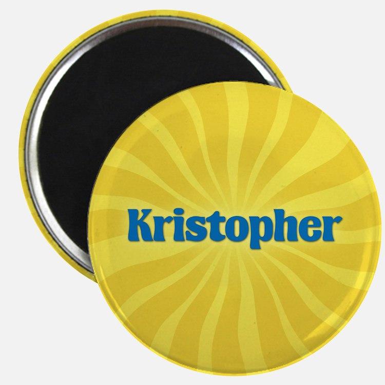 Kristopher Sunburst Magnet
