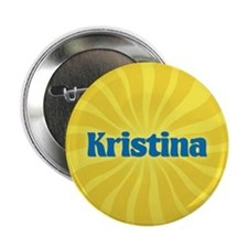"Kristina Sunburst 2.25"" Button"