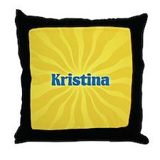 Kristina Sunburst Throw Pillow