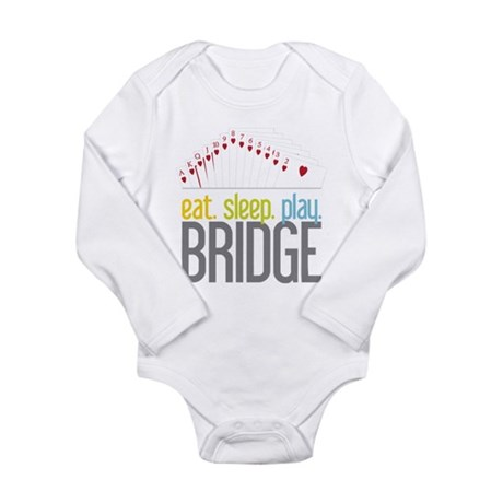 Bridge Long Sleeve Infant Bodysuit