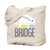 Bridge game Canvas Totes