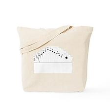 Bidding Bridge Suit Tote Bag