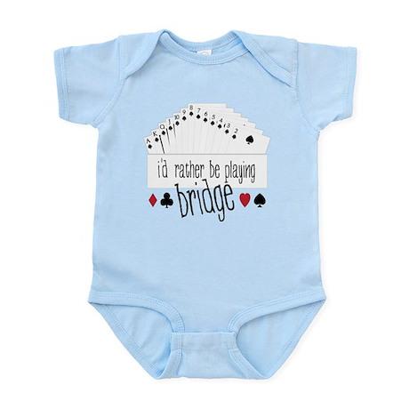 Playing Bridge Infant Bodysuit