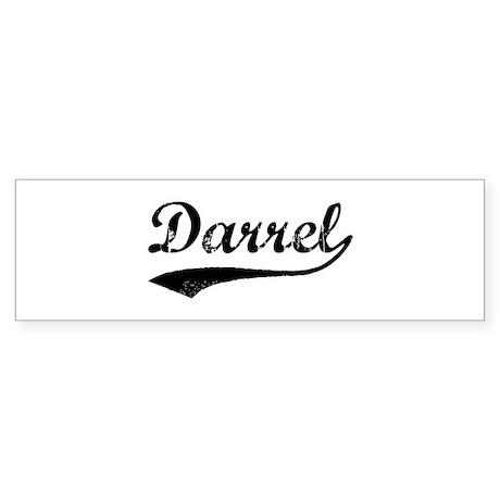Vintage: Darrel Bumper Sticker