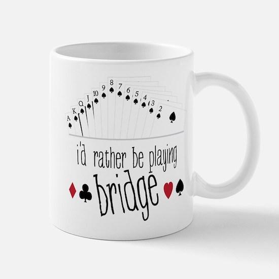 Playing Bridge Mug
