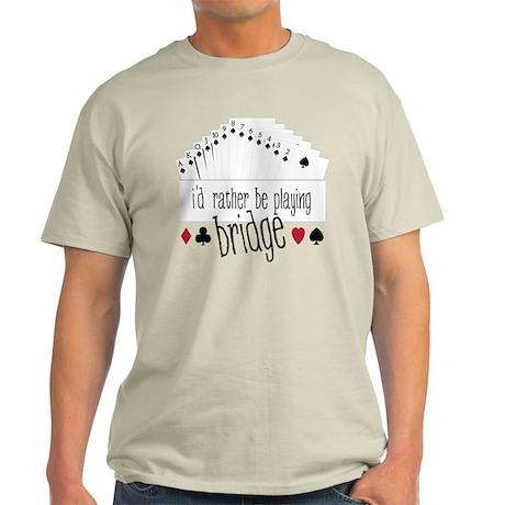 Playing Bridge Light T-Shirt