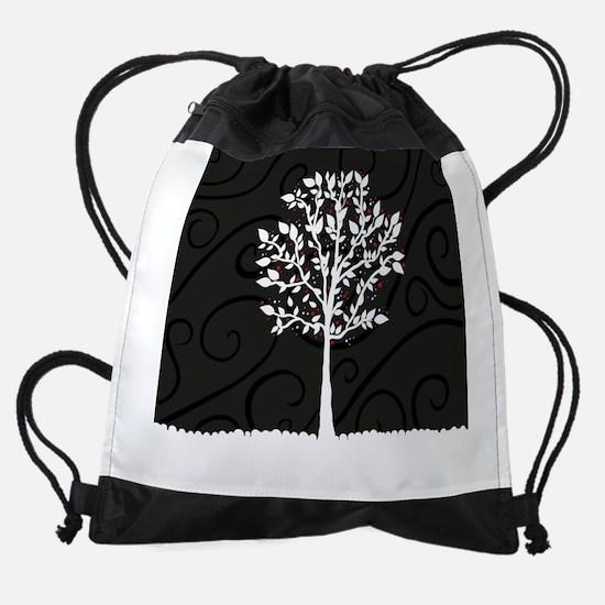 Love Tree Drawstring Bag