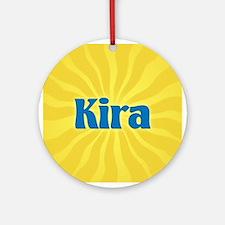 Kira Sunburst Ornament (Round)