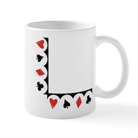 Playing Cards Corner Mug