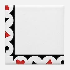 Playing Cards Corner Tile Coaster