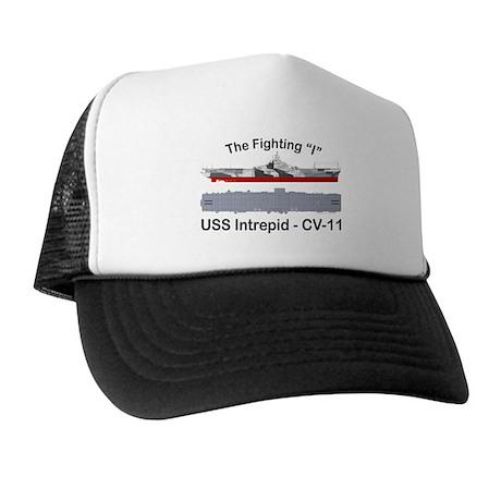 USS Intrepid CV-11 Trucker Hat