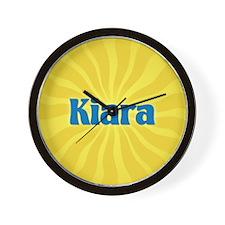 Kiara Sunburst Wall Clock