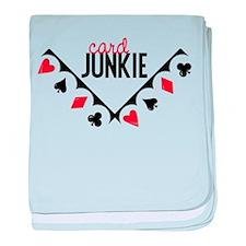 Card Junkie baby blanket