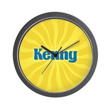 Kenny Sunburst Wall Clock