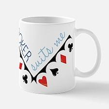 Poker Suits Me Mug