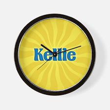 Kellie Sunburst Wall Clock