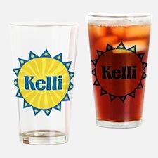 Kelli Sunburst Drinking Glass