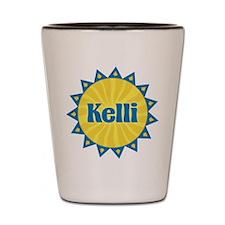 Kelli Sunburst Shot Glass