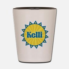 Kelli Sunburst Shot Glass