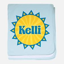 Kelli Sunburst baby blanket