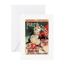 french poster Greeting Card