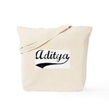 Vintage: Aditya Tote Bag