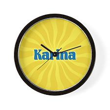 Karina Sunburst Wall Clock
