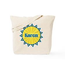 Karen Sunburst Tote Bag