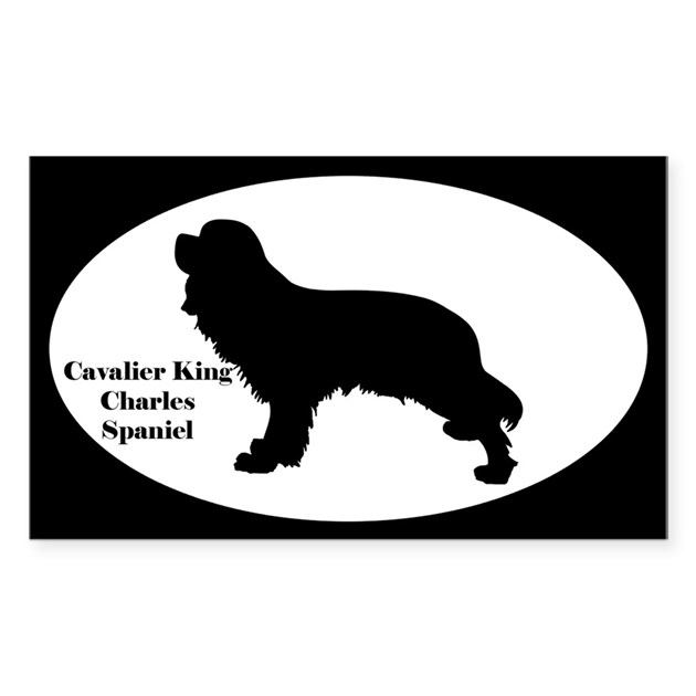 Cavalier King Charles Spaniel Silhouette Decal by Admin ...