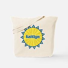 Kaitlyn Sunburst Tote Bag
