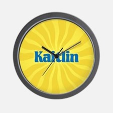 Kaitlin Sunburst Wall Clock