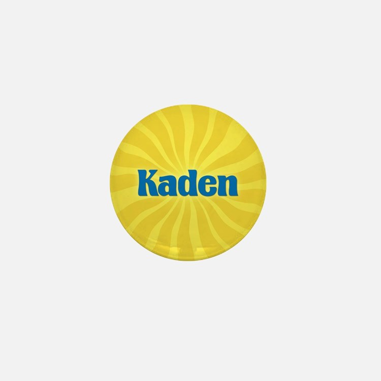 Kaden Sunburst Mini Button