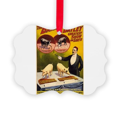 barnum and bailey Picture Ornament